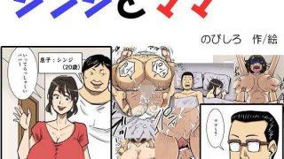 同人CGレビュー【巨乳/近親相姦】[のびしろ]「シンジとママ」