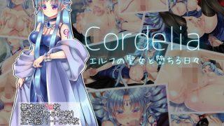 同人CGレビュー【パイズリ/フェラ】[Aqua-baiser]「Cordelia エルフの聖女と堕ちる日々」