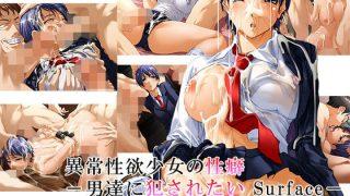 同人CGレビュー【乱交/ぶっかけ】[リメーションメイド]「異常性欲少女の性癖-男達に犯されたい Surface-」
